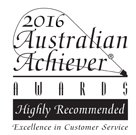 2016 Australian Achiever Awards Highly Recommended