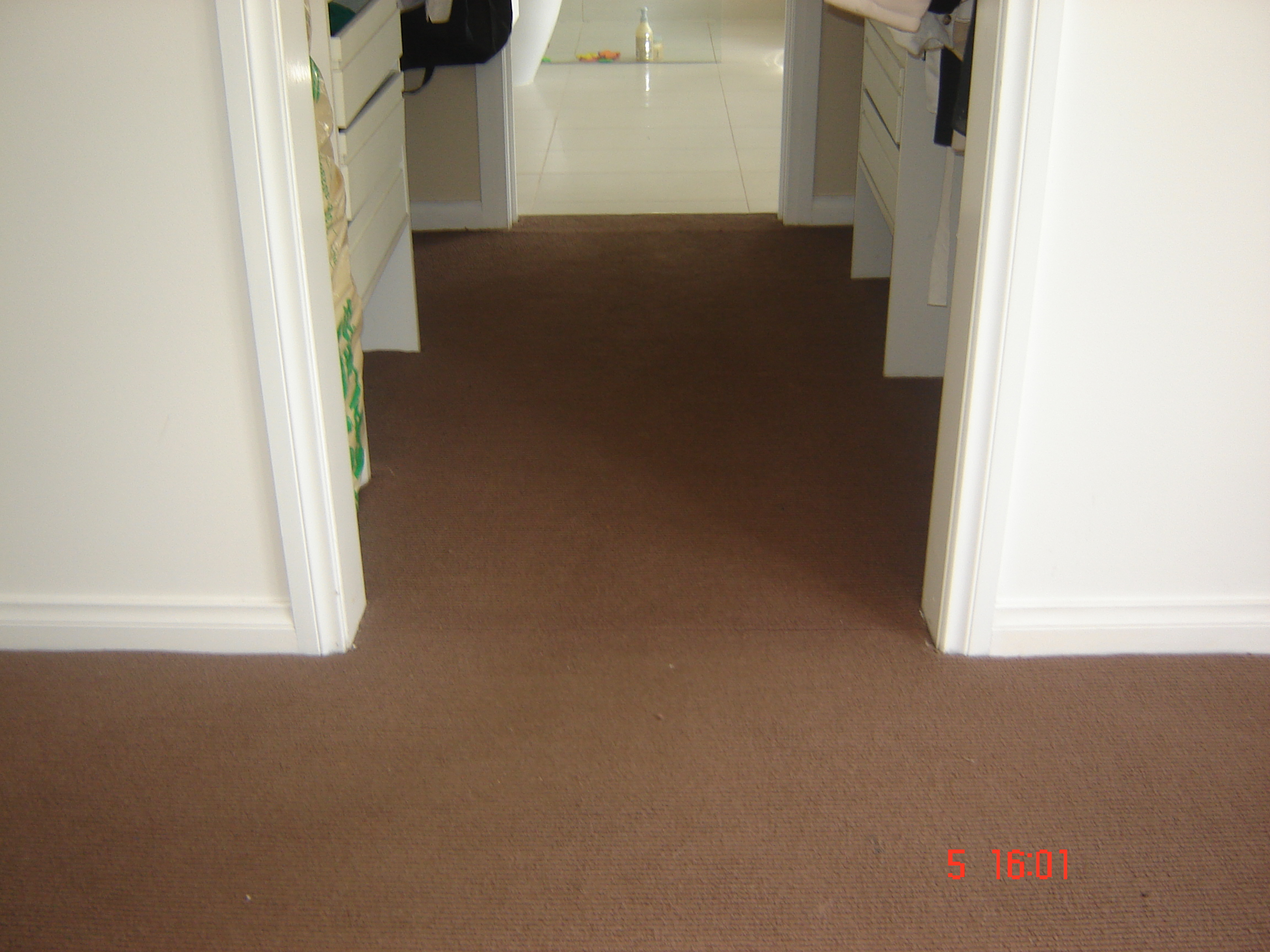 After Carpet Drying